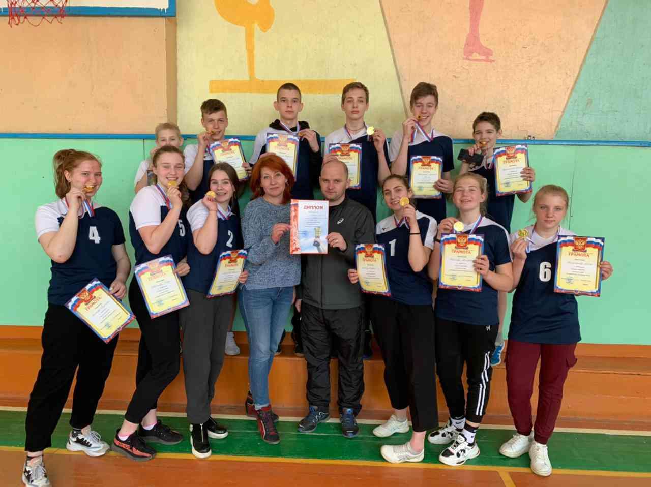Мичуринцы стали победителями зонального этапа Всероссийских спортивных игр школьников «Президентские спортивные игры»